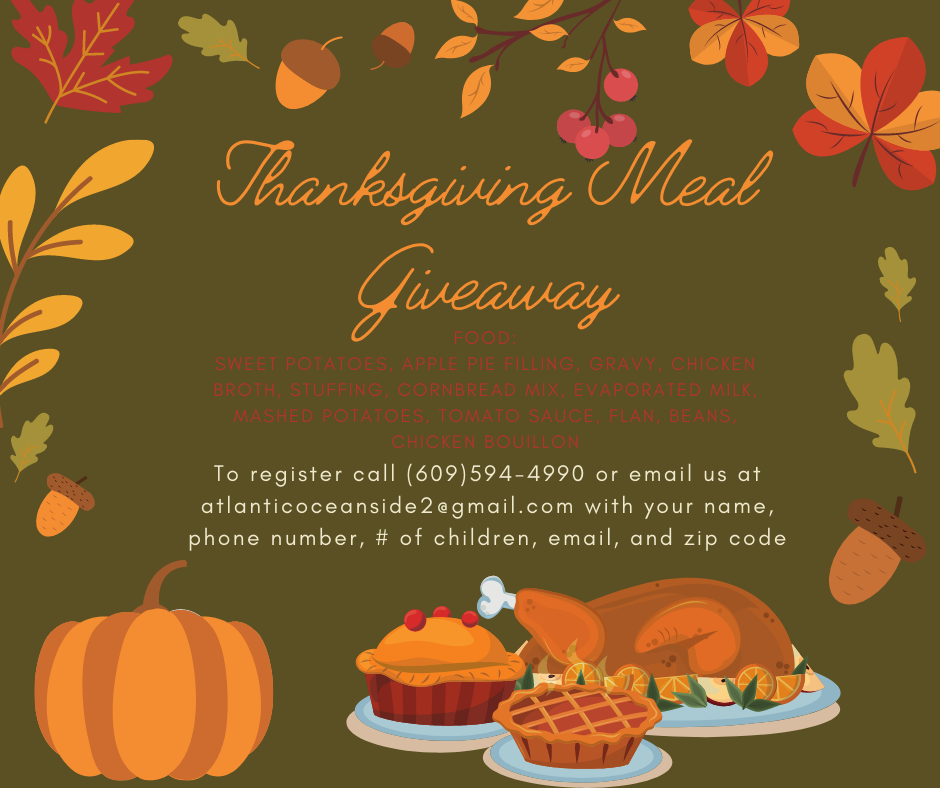 Thanksgiving Meal Giveaway - English